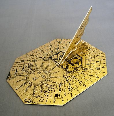 Sun DIal Vintage Precision Die Cut  Scientific Instrument Kit Paul Macalister