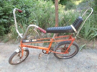 """RALEIGH CHOPPER 10 SPEED """"RARE"""" MK 1 Vtg 60's 70's MUSCLE BIKE. Bicycle"""