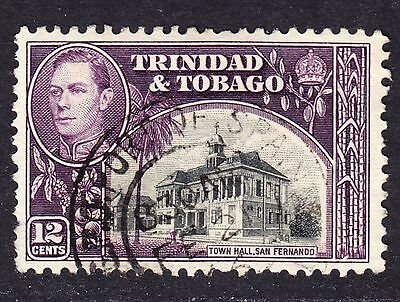 Trinidad & Tobago Scott # 57  F to VF used with a beautiful SON cds.