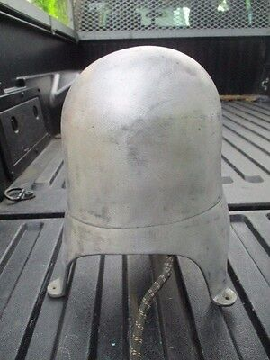 "Antique Head Mold Aluminum Electric Hat Stretcher Block 21"" . Tested"