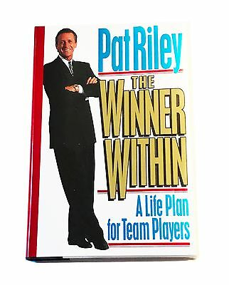 Pat Riley Hand Signed Autographed Book The Winner Within With Coa Very Rare