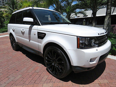 2012 Land Rover Range Rover Sport 4WD 4dr HSE Florida 2012 Land Rover Range Rover Fuji White Celebrity Luxury SUV Great Deal
