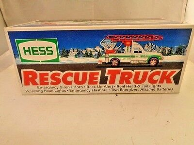 Hess Rescue Truck 1994 S6097 New In Box