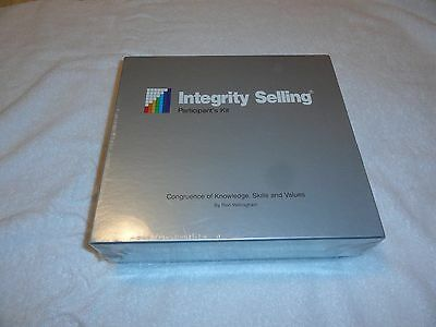 Integrity Selling Participant's Kit Ron Willingham Book CDs RARE NEW NOS SEALED
