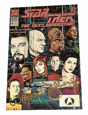 Whoopi Goldberg Hand Signed Autographed Star Trek Comic Book #20 Next Generation