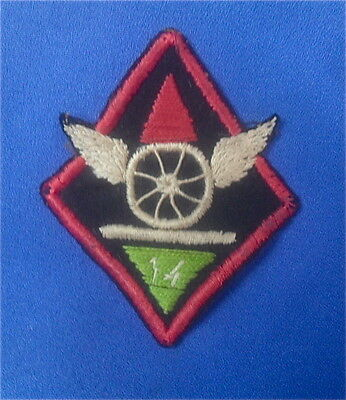 WWI 14th Engineers Patch  No glow.  Original
