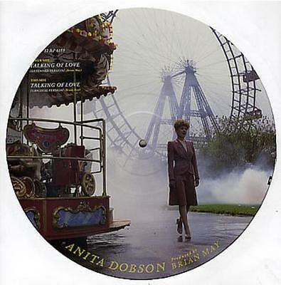 "Anita Dobson 12"" vinyl picture disc record Talking Of Love UK 12RP6159"