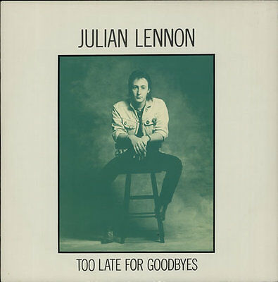 "Julian Lennon Too Late For Goodbyes UK 12"" vinyl single record (Maxi) JL112"