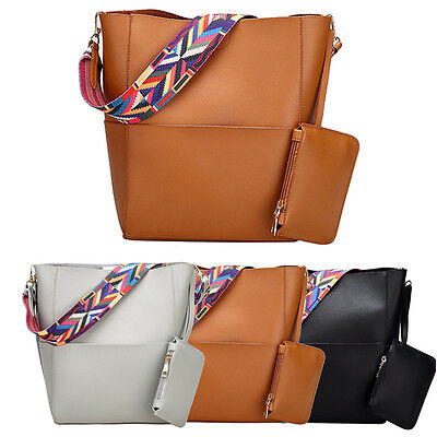Women Leather Handbag Shoulder Crossbody Bag Purse Messenger Tote Satchel Purse