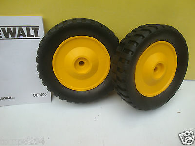 Pair Of Replacement Wheels For The De7400 Rolling Stand Dw745 A23234