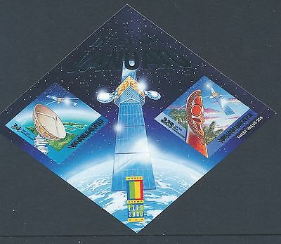 2000 Vanuatu Space/world Stamp Expo Minisheet Fine Mint Mnh Self Adhesive Stamps