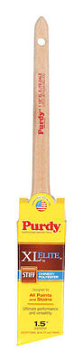 Purdy XL Elite Dale  1-1/2 in. W Angle  Chinex/Polyester  Trim Paint Brush