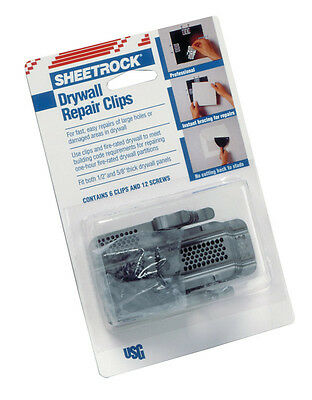 Sheetrock  Drywall Repair Clips