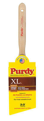 Purdy XL Glide  3 in. W Angle  Nylon Polyester  Trim Paint Brush