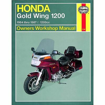 Manual Haynes for 1986 Honda GL 1200 IG Gold Wing (Interstate)