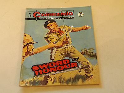 Commando War Comic Number 342!!,1968 Issue,good For Age,49 Years Old,v Rare.