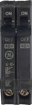 GE  Q-Line  Double Pole  40 amps Circuit Breaker, THQP240