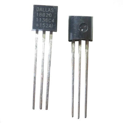 1PC DALLAS 18B20 DS18B20 TO-92 Wire Digital Thermometer Temperature IC Sensor