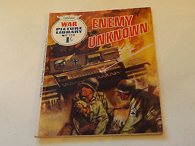 WAR PICTURE LIBRARY NO 350!,dated 1966!,V GOOD for age,great 51!YEAR OLD issue.