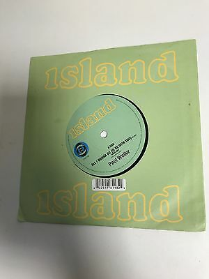 "7"" Album Vinyl Record PAUL WELLER - ALL I WANNA DO (IS BE WITH YOU) *"
