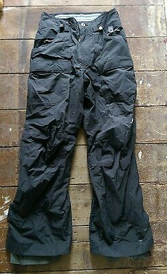 Helly Hansen Mens Lined Waterproof Trousers Salopettes Sailing Ski Snow Board M