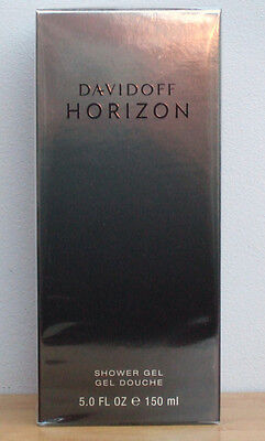 DAVIDOFF HORIZON MENS SHOWER GEL 150ml NEW SEALED