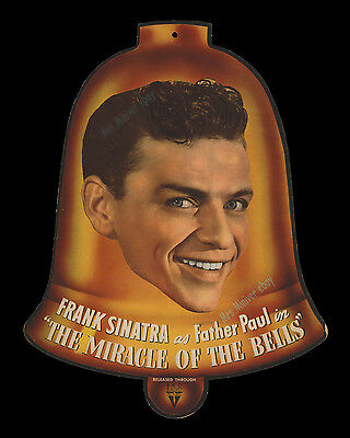 1948 ☆ FRANK SINATRA ☆ Movie Theater LOBBY CARD Miracle of the Bells POSTER SET!