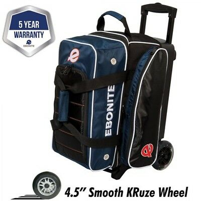 Ebonite Bowling Bag Double Scooter Eclipse 2 Ball Scooter Blue