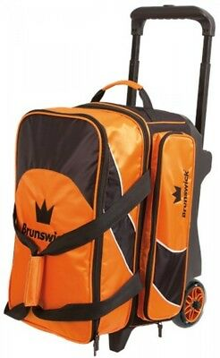 Brunswick ick Bowling bag Edge 2 Ball Scooter Orange Double scooter