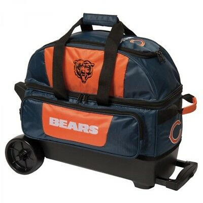 KR NFL Chicago Bears 2 Ball Scooter Bowling Bag