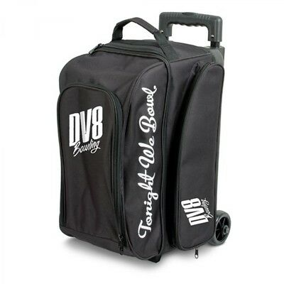 DV8 Bowling bag Freestyle 2 Ball Scooter Black Double Roller