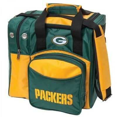 KR NFL Bowling bag Green Bay Packers 1 Ball Single Tote bag