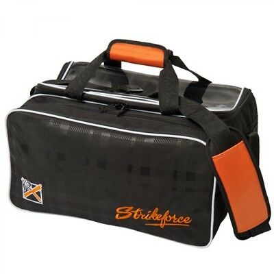 KR Bowling bag Krush 2 Ball Bag with Shoe compartment Orange