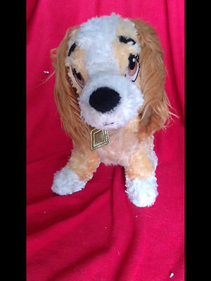 Lady And The Tramp Dog Soft Toy Disney Beanie 12 Inch Tall