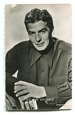 CPSM photo Paramount Victor Mature RPPC Collection Kores 409 12E