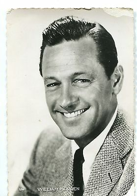 CPSM William Holden photo Paramount 1954 RPPC Collection Kores 29F 594