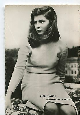 CPSM Pier Angeli photo MGM 1954 RPPC Collection Kores 29F 627