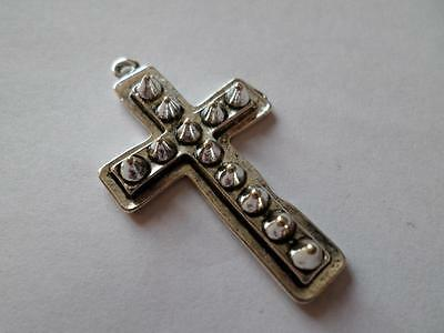 Large Christian Religious Cross Pendant. Gothic Crucifix Jewellery. Great Gift
