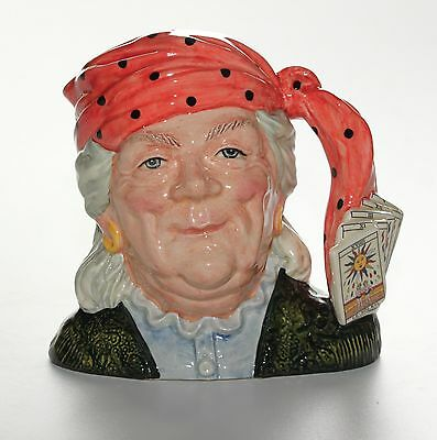Royal Doulton Character Jug, The Fortune Teller, D6874, Large Size.