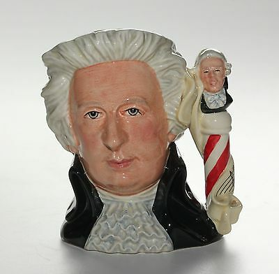 Royal Doulton Character Jug, Mozart, Great Composers, D7031, Large Size.