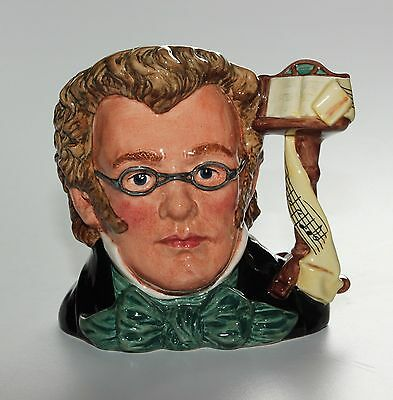 Royal Doulton Character Jug, Schubert, D7056, Great Composers, Large Size.