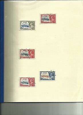 1935 Silver Jubilee Used Issues (1910-35) Useful Starter Collection - 83 Stamps