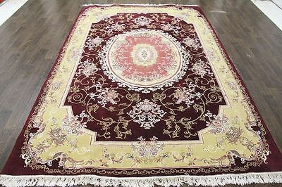 Traditional Vintage Persian Large  6.4 X 9.7 Area Rugs Oriental Rug Carpet