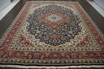 Traditional Vintage Persian Large  9.6 X 12.8 Oriental Rug Area Carpet Rugs