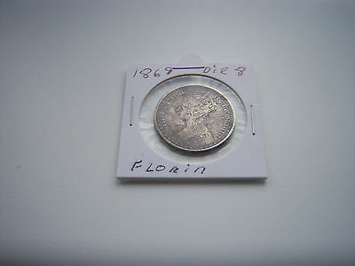 1869 Gothic Florin Coin.uk Only