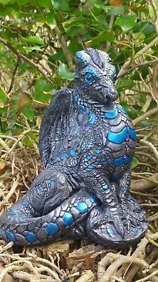 New Design Rubber Latex Moulds Mold Mold Large Dragon To Make Garden Ornament #3