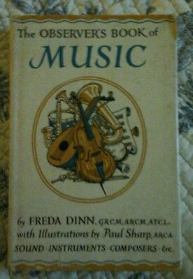 1961 The Observer's Book of Music  by Freda Dinn