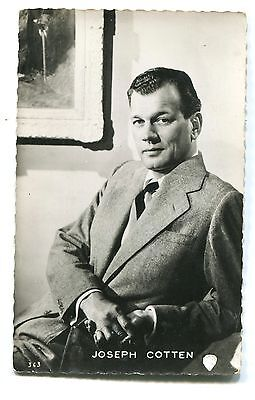 CPSM Joseph Cotten photo Warner Bros RPPC Collection Kores 29F 343
