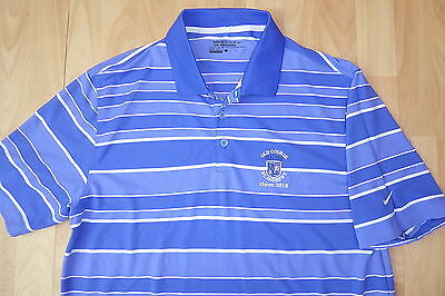 The Open 2015 St Andrews Nike Golf Tour Performance Dri-Fit Polo Shirt Top Large