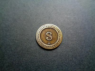 French 10 cts ; 'S' - Look!